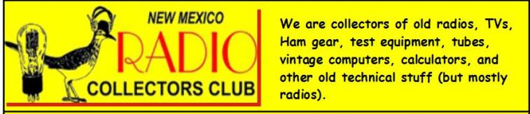 NM Radio Collectors Club
